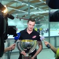 Омские болельщики смогут сфотографироваться с Кубком мира по хоккею