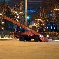 В новогодние выходные омские дорожники будут чистить город