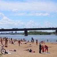 Еще два пляжа открыли для отдыха омичей
