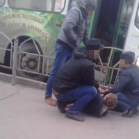 Омские пассажиры задержали водителя автобуса