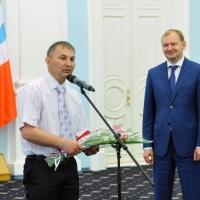 12 омичей награждены почетной медалью «Патриот России»