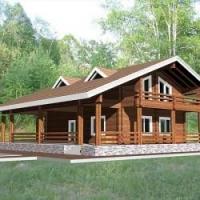 Преимущества профилированного бруса для строительства дома