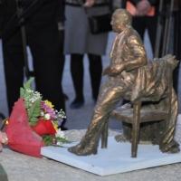 В Омске заложили камень в основание памятника актеру Михаилу Ульянову