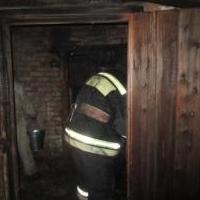 В Омской области мужчина приехал протопить свой дом и сгорел