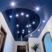 Тканевые потолки – прекрасное дополнение классического интерьера