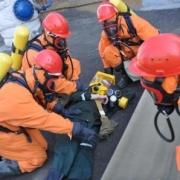 Спасатели омского водоканала подтвердили высокую слаженность