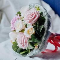Букет из мыла – эффектный и оригинальный подарок для любимых