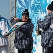 В Омске вспыхнул паралимпийский огонь