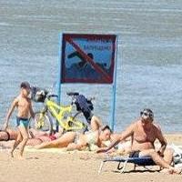 Матросы-спасатели следят за безопасностью на пляжах Омска