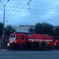 Омские росгвардейцы спасли из пожара 59-летнего мужчину
