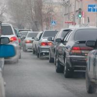 Омичи с утра стояли в пробках на главных магистралях