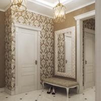 Обои для прихожей и коридора: фото самых популярных решений в оформлении