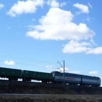 За минувший октябрь в Омской области погружено почти полтора миллиона железнодорожных грузов