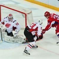 Со счетом 3:2 «Авангард» проиграл на выезде «Локомотиву»