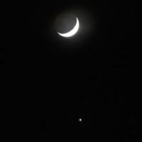 Омич запечатлел на фотографии малый парад планет