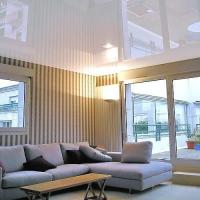 Особенности тканевых и пленочных натяжных потолков