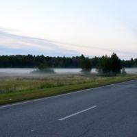 Омичей предупредили об опасности тумана