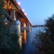 """""""Мостовик"""" перенёс новосибирский мост в другой конец города"""