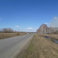 В Шербакульском районе топит дорогу