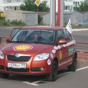 Омск посетили экстремалы на Skoda