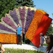 И новый сквер, и первая «Флора» открылись 1 августа в Кировском округе