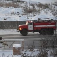 В Омске почти полностью сгорела двухэтажная дача