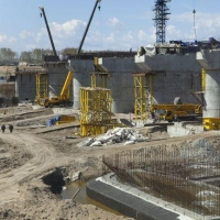 В Омской области на строительство Красногорского гидроузла дополнительно выделили 90 миллионов