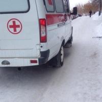 Омич получил серьезные ожоги при пожаре в бараке