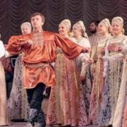 60 лет поёт о России Государственный Омский русский народный хор