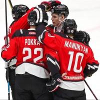 Омский хоккеист Артем Манукян сделал 4 результативные передачи за одну игру