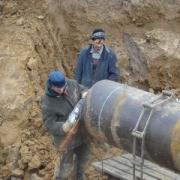 Омский водоканал устранил повреждение коллектора в советском административном округе