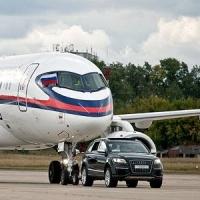 «Крылья Сибири» в Омске: автомобиль потягается в скорости с самолетом