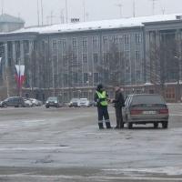 За управление не зарегистрированным автомобилем водителю грозит штраф