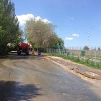 У «Птичьей гавани» в Омске меняют канализационный коллектор