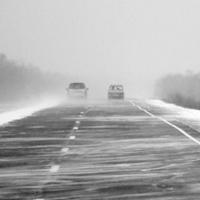 Участок трассы на Казахстан из Омской области перекрыли из-за метели