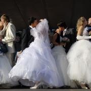 11.11.11 в Омской области поженились 150 пар