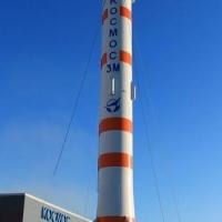 В Омске появилась «пизанская ракета»