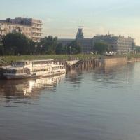 Причалы Омского речвокзала намерены перевести в региональную собственность