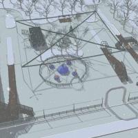 Омичей просят придумать название для зимнего городка в парке