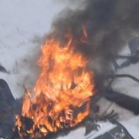 Восемь омских пожарных потушили павильон в Ленинском округе