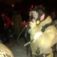 Более 40 спасателей два часа тушили дом в Омске