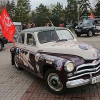 Автопробег  в память погибших на полях сражений стартовал из Парка Победы