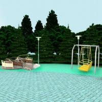 В центре Омска появится парк с игровой площадкой для детей-инвалидов