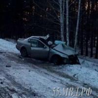 На трассе в Омской области погибла 21-летняя автоледи