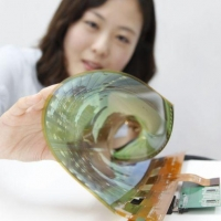 Самый большой в мире гибкий дисплей анонсировали в Южной Корее