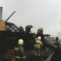 Очевидцы выложили видеозапись с пожара, унесшего жизни четырех омичей