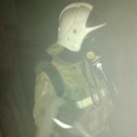 В многоэтажном доме Омска случился  пожар