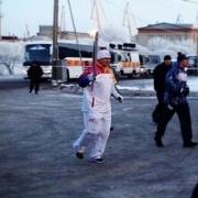 Олимпийский факел в Омске дважды погас