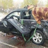 Жесткое ДТП с двумя внедорожниками произошло под Омском