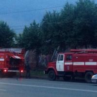 В центре Омска вчера чуть не сгорел оздоровительный комплекс